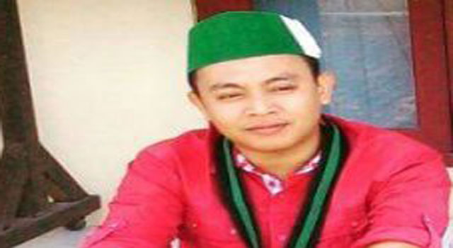 Ketua Umum Himpunan Mahasiswa Islam (HMI) Cabang Pamekasan Chairul Umam.