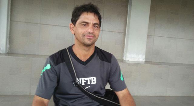 Pelatih fisik klub sepak Madura United FC Joaquim Filho